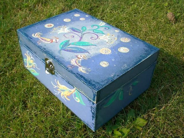 Dėžutė krikštynoms