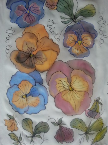 scarf Viola