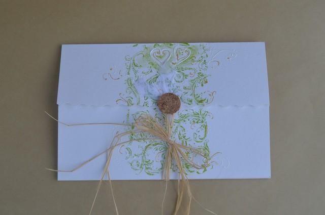 """Vestuvių skrynelė """"Gyvybės medis"""" su vokeliu"""