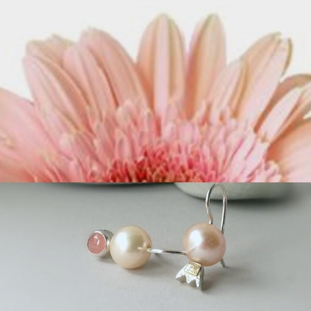 perlų istorijos: persikine rausva