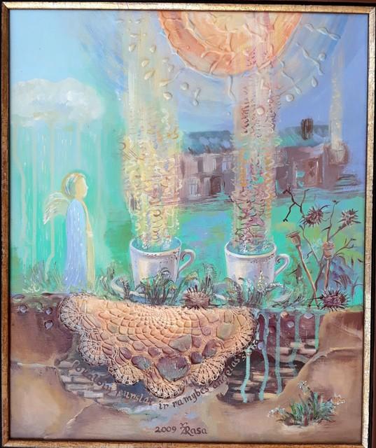 Pokalbių purslai ir ramybės angelas šalia